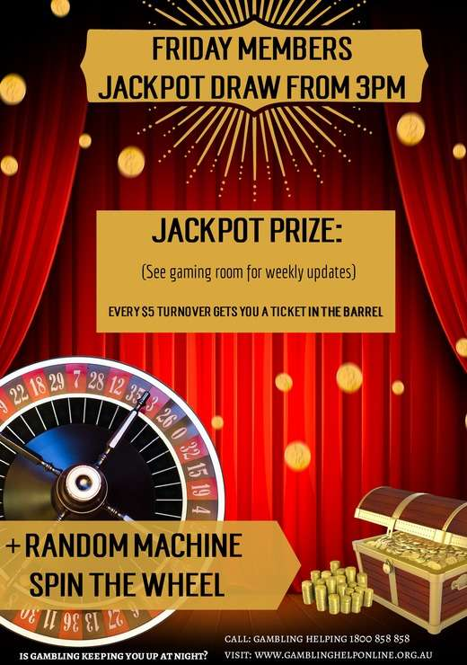Members Jackpot Website